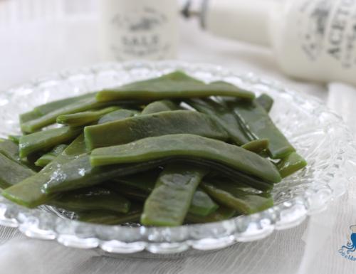 Piattoni  in insalata, ricetta vegetariana di facile preparazione