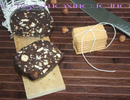 Salame di cioccolato e nocciole, ricetta piemontese