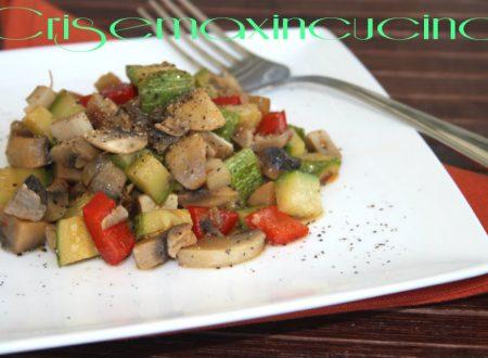 Verdure miste saltate, ricetta veloce