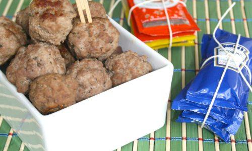 Polpette semplici alle cipolle, ricetta finger food