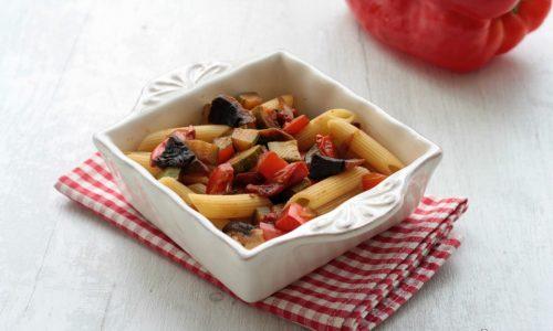 Pasta fredda con le verdure, ricetta  veloce