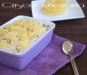 Tiramisù-ananas