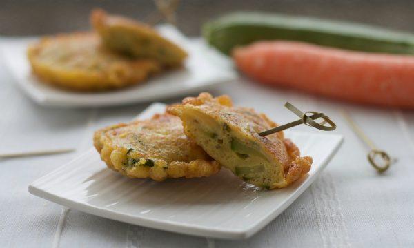 Frittatine di zucchine e carote, ricetta veloce