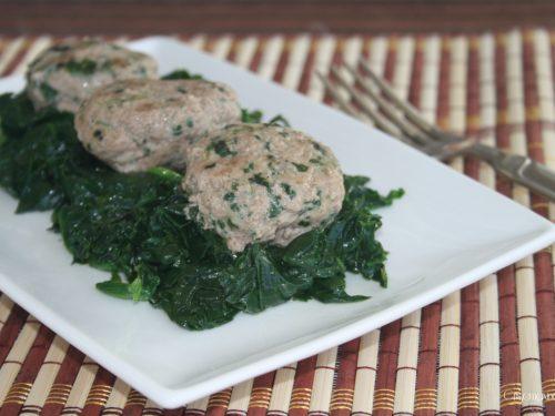 Polpette con gli spinaci, ricetta della nonna