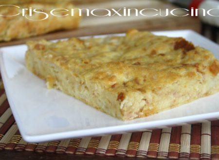 Frittata col pane raffermo, ricetta al forno