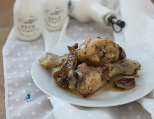 Fusi di pollo con i funghi, ricetta saporita di facile preparazione
