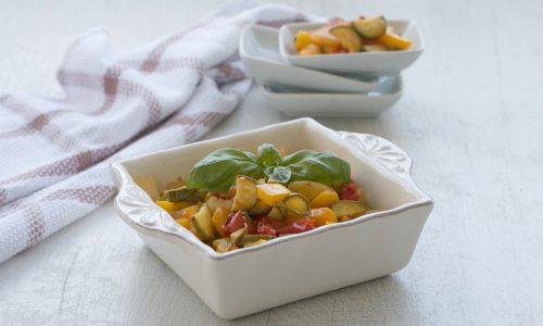 Misto di verdure in padella, ricetta salutare facile e veloce