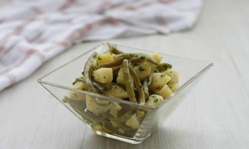 Insalata di patate e fagiolini, ricetta estiva
