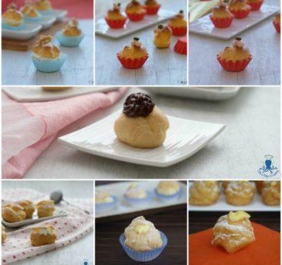 Bignè dolci e salati, raccolta di ricette sfiziose e golose