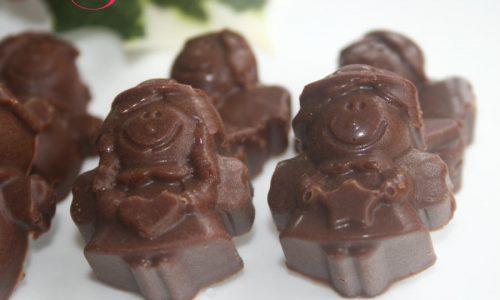 Cioccolatini al gianduia, ricetta dolce