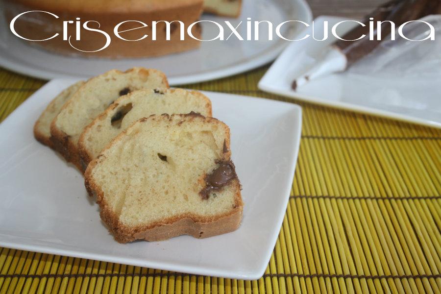 Ciambellone alla nutella, ricetta con fornetto versilia