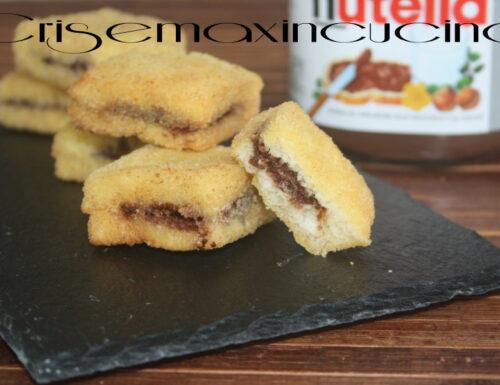 Nutella in carrozza, ricetta creativa