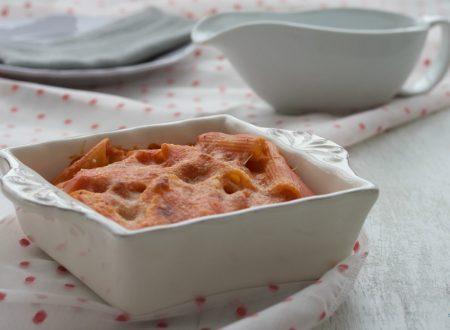 Pasta pasticciata senza carne, ricetta facile e veloce