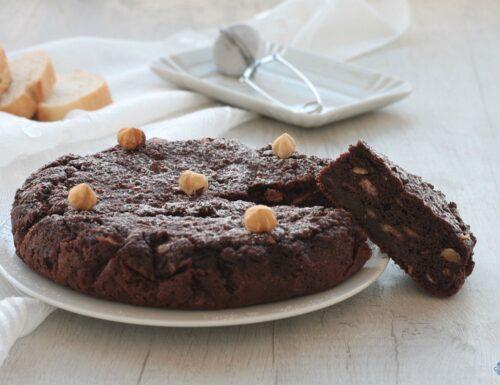 Torta di pane al cacao, ricetta con il pane raffermo