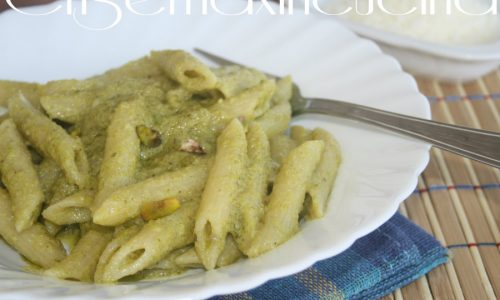 Penne al pesto di pistacchio, ricetta primo piatto