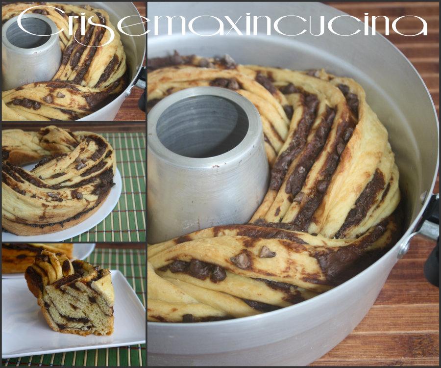Torta angelica alla nutella ricetta con fornetto versilia - Forno ventilato per torte ...