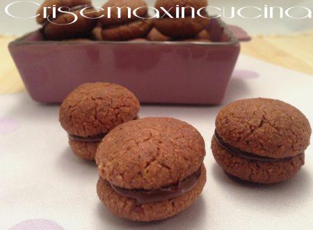 Baci di dama al cioccolato, ricetta senza uova