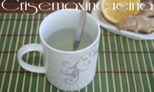 Tisana zenzero e limone, ricetta salutare