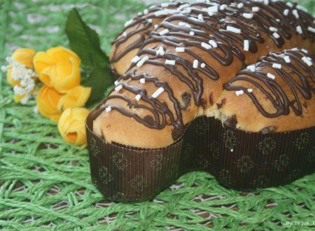 Colomba con esubero di lievito madre, ricetta col cioccolato
