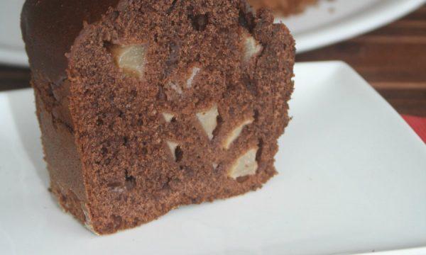 Torta ciocco pere, ricetta col fornetto Versilia