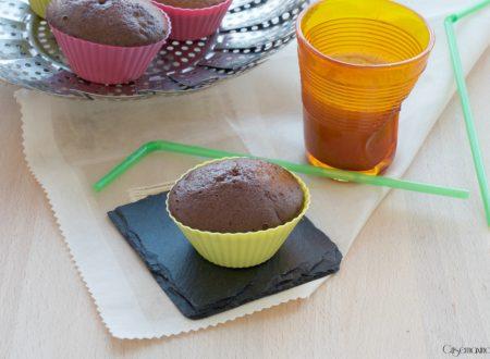 Muffin al vapore col nesquik, ricetta facile e veloce