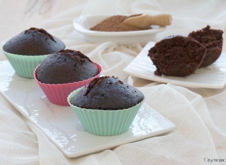 Muffin al cioccolato al vapore, ricetta dolce facile e veloce