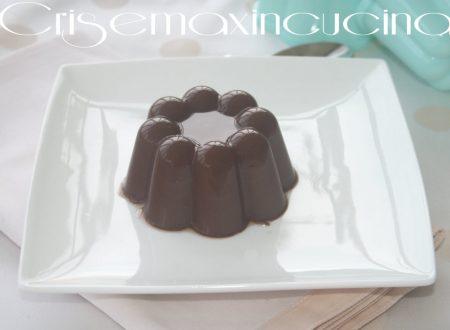 Budino al cioccolato, ricetta dolce