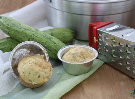 Muffin soffici alle zucchine, ricetta con Fornetto Versilia
