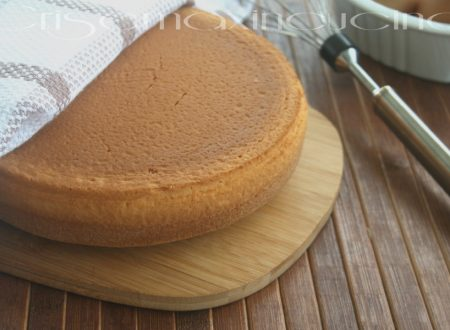 Pan di spagna, ricetta base