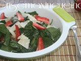 spinaci e fragole