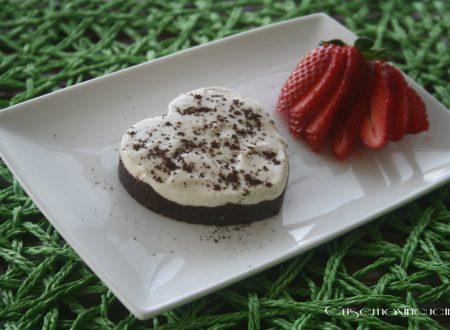 Cheesecake yogurt e caffè,  senza cottura