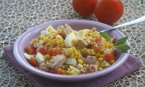 Insalata di mais e tonno, ricetta sfiziosa