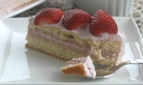 Mattonella ricotta e fragole, ricetta dolce