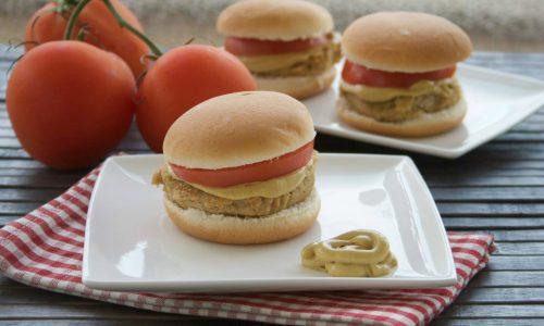 Burger di cannellini, ricetta vegana