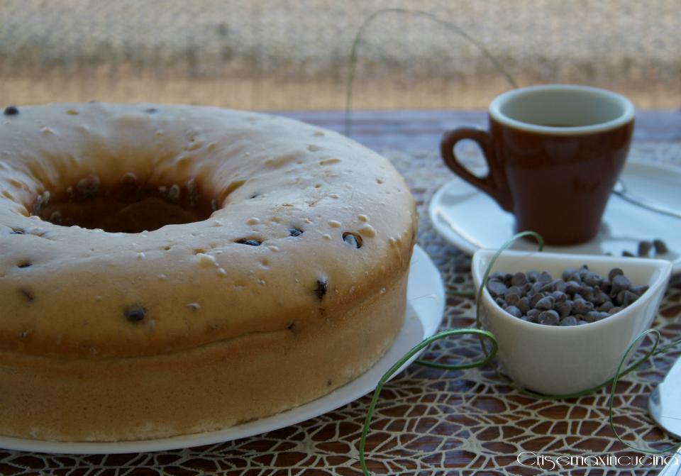 Ciambella 7 Vasetti al Caffè e Gocce Cioccolato