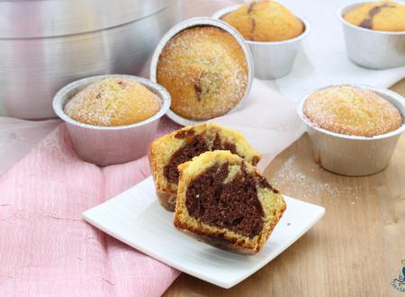 Muffin al latte caldo con il Versilia.