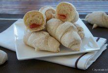 Croissant salati, con lievito madre