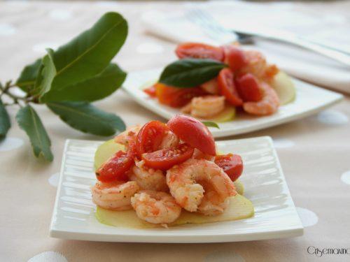 Insalata di gamberi e pomodorini, ricetta raffinata