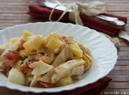 Insalata di pollo, ricetta light e facile