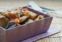Melanzane in umido, ricetta vegetariana