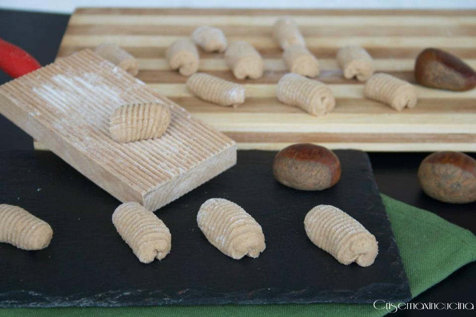 gnocchi di castagne 1