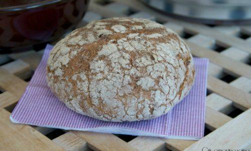 Pane integrale cotto nel fornetto Estense