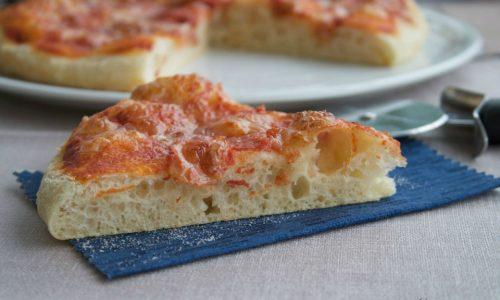 Pizza con lievito madre, ricetta Bonci