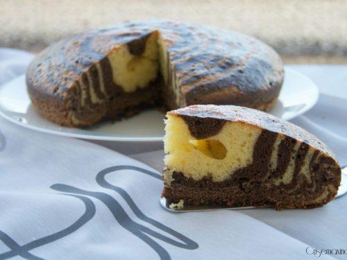 Torta 7 vasetti zebrata, cotta nel fornetto Estense