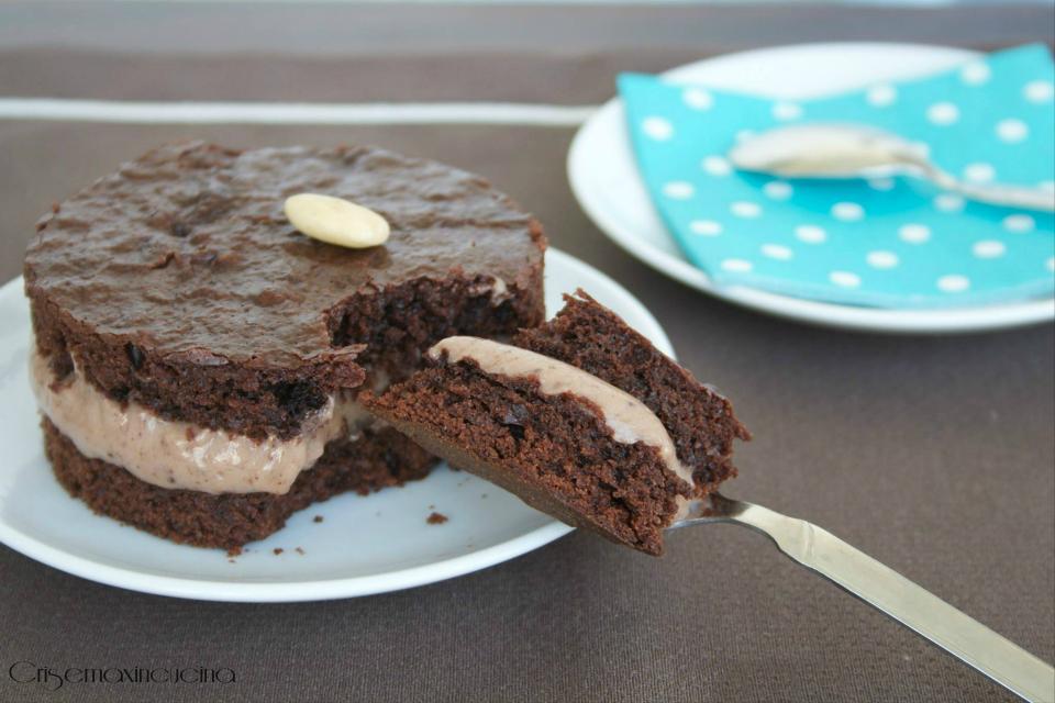 torta al cioccolato con crema past cioccolato 1