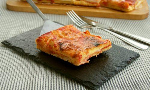 Pizza veloce del buongustaio