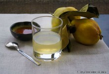 Decotto di mele cotogne, per tosse e mal di gola