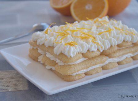 Tiramisù con le arance, ricetta dolce