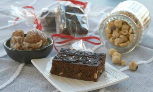 Brownies con i marron glacè