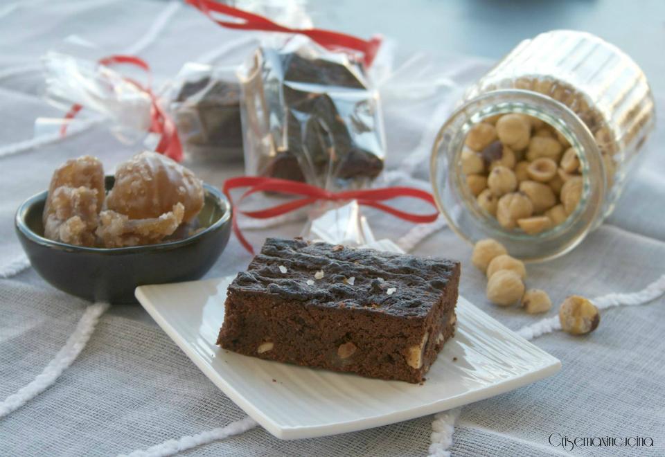 brownies ai marron glacé